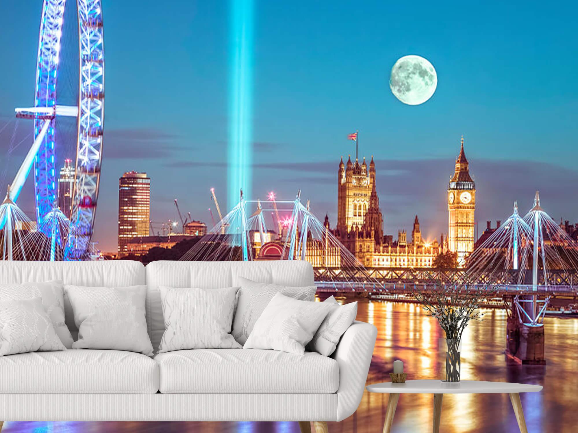 Westminster med fullmåne 6