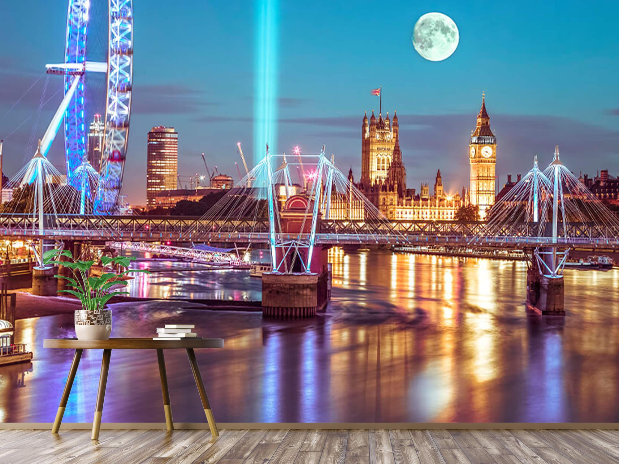 Westminster med fullmåne 5