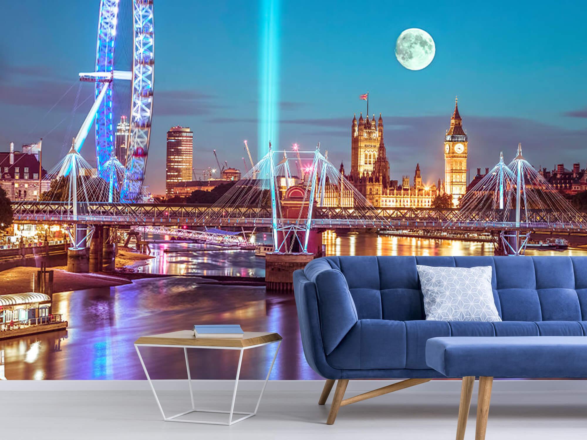 Westminster med fullmåne 7