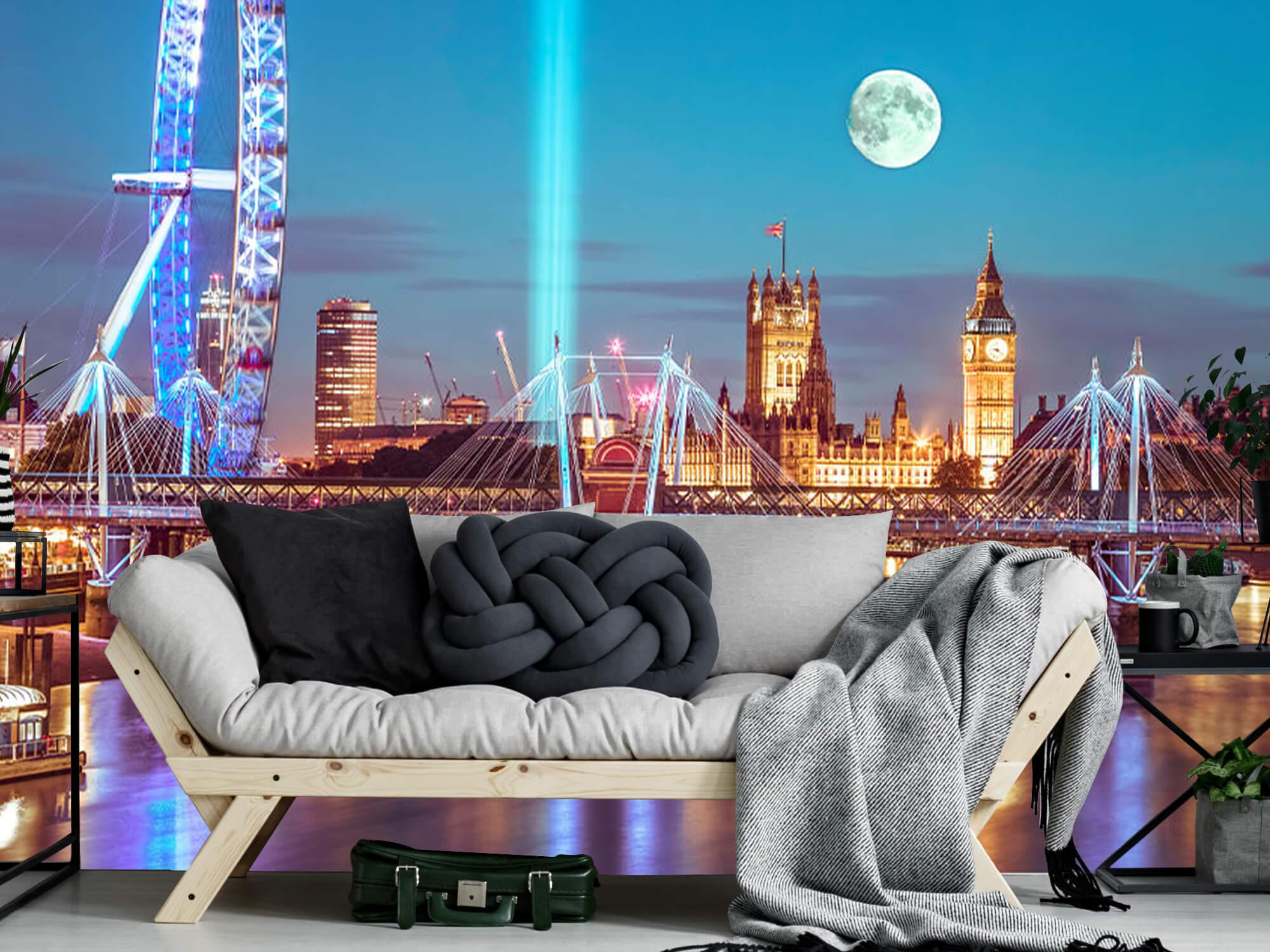 Westminster med fullmåne 4