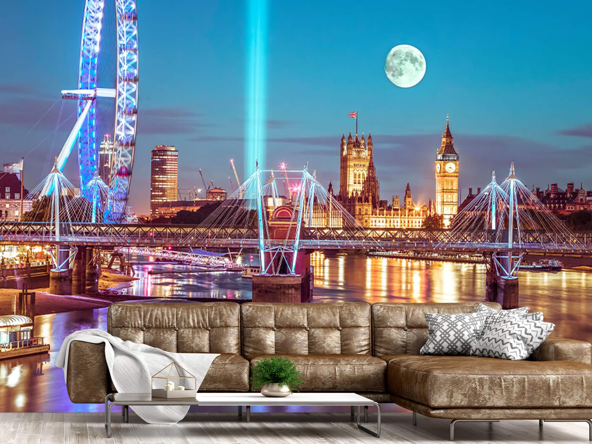 Westminster med fullmåne 15