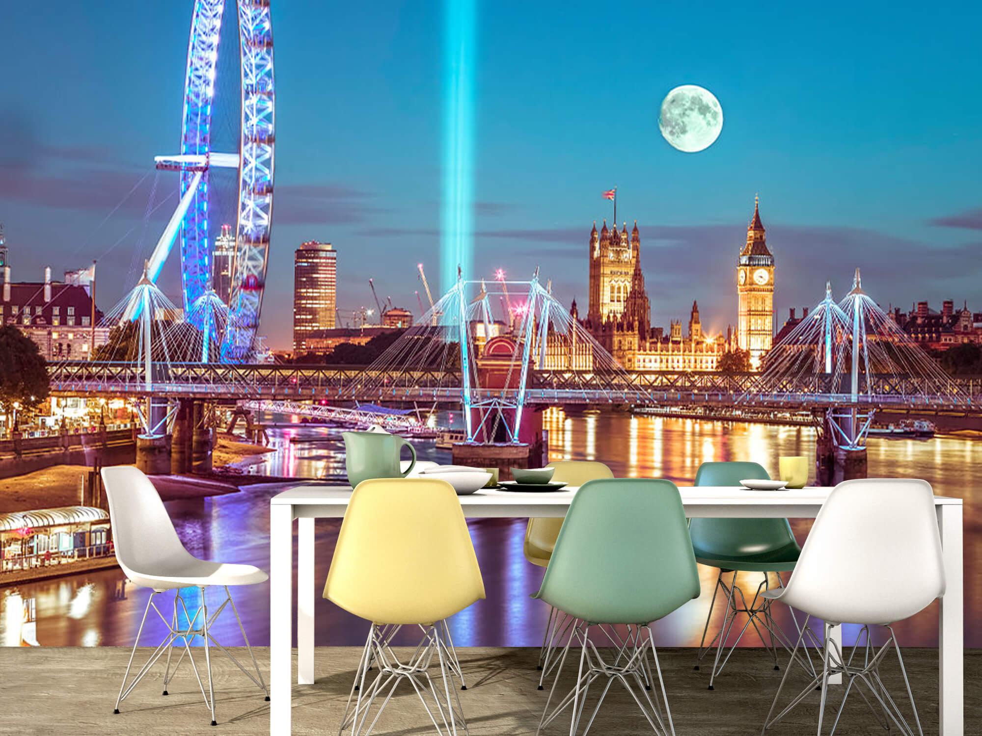 Westminster med fullmåne 8