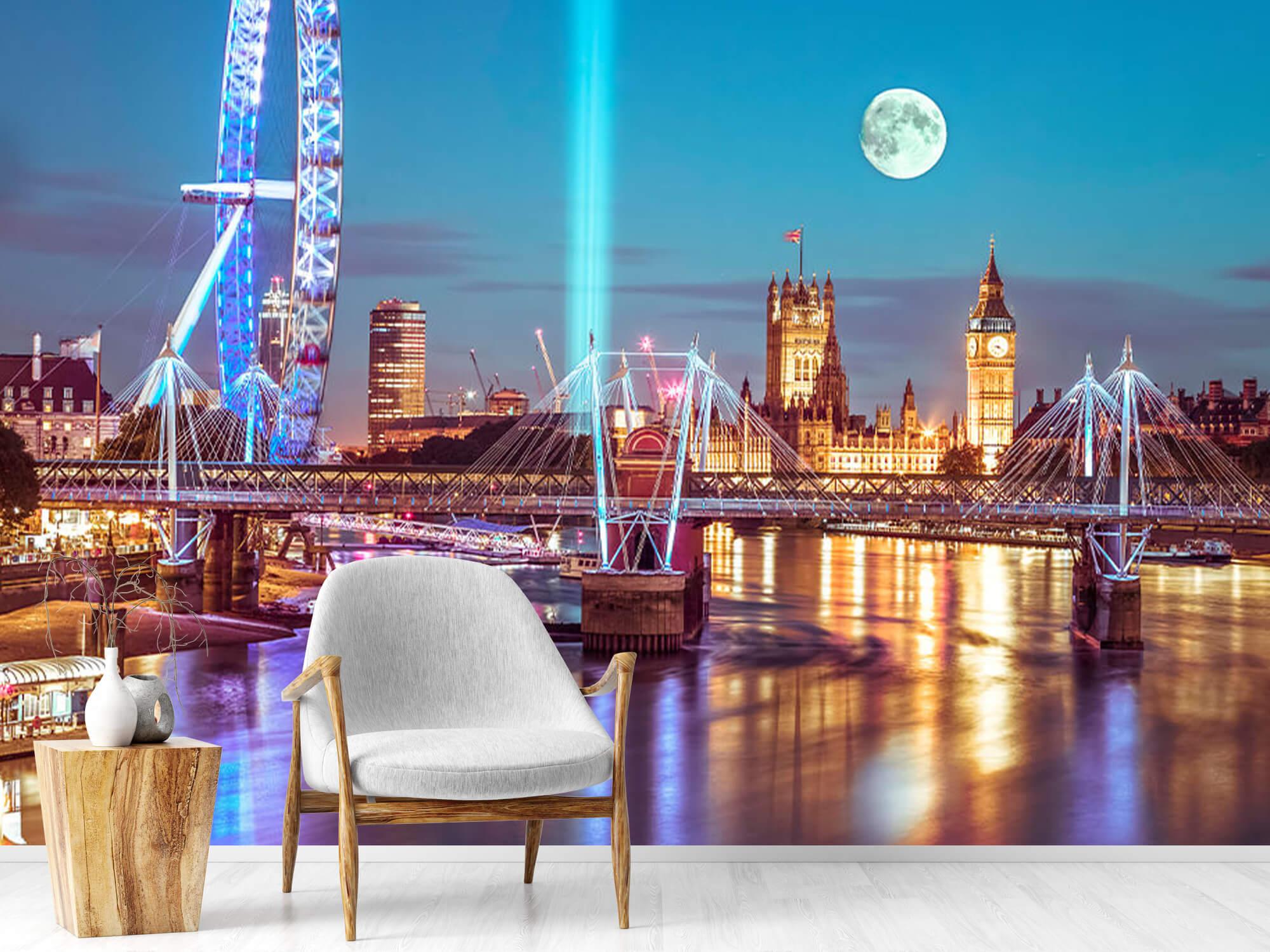 Westminster med fullmåne 10
