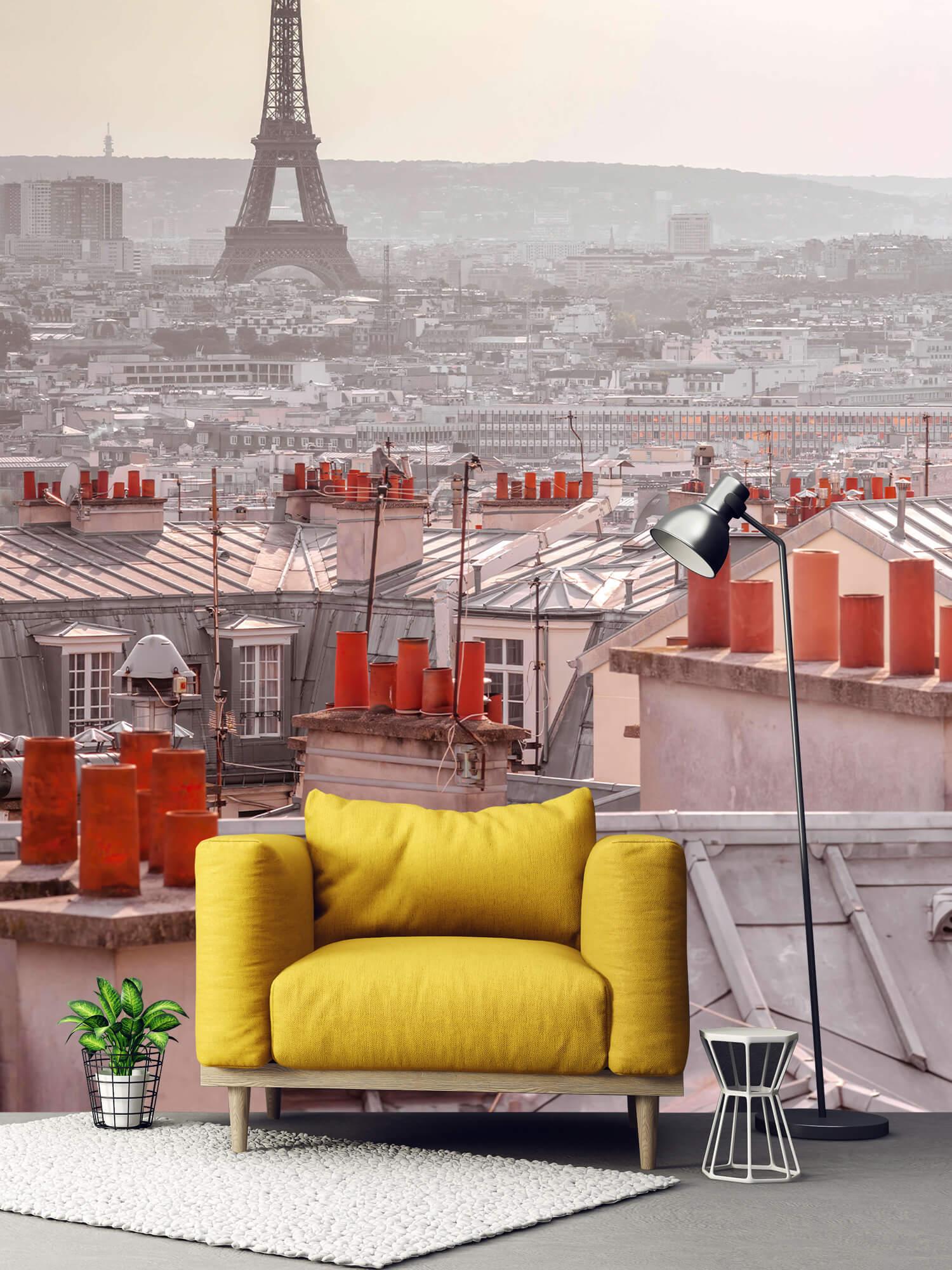 Eiffeltornet från Montmartre 2