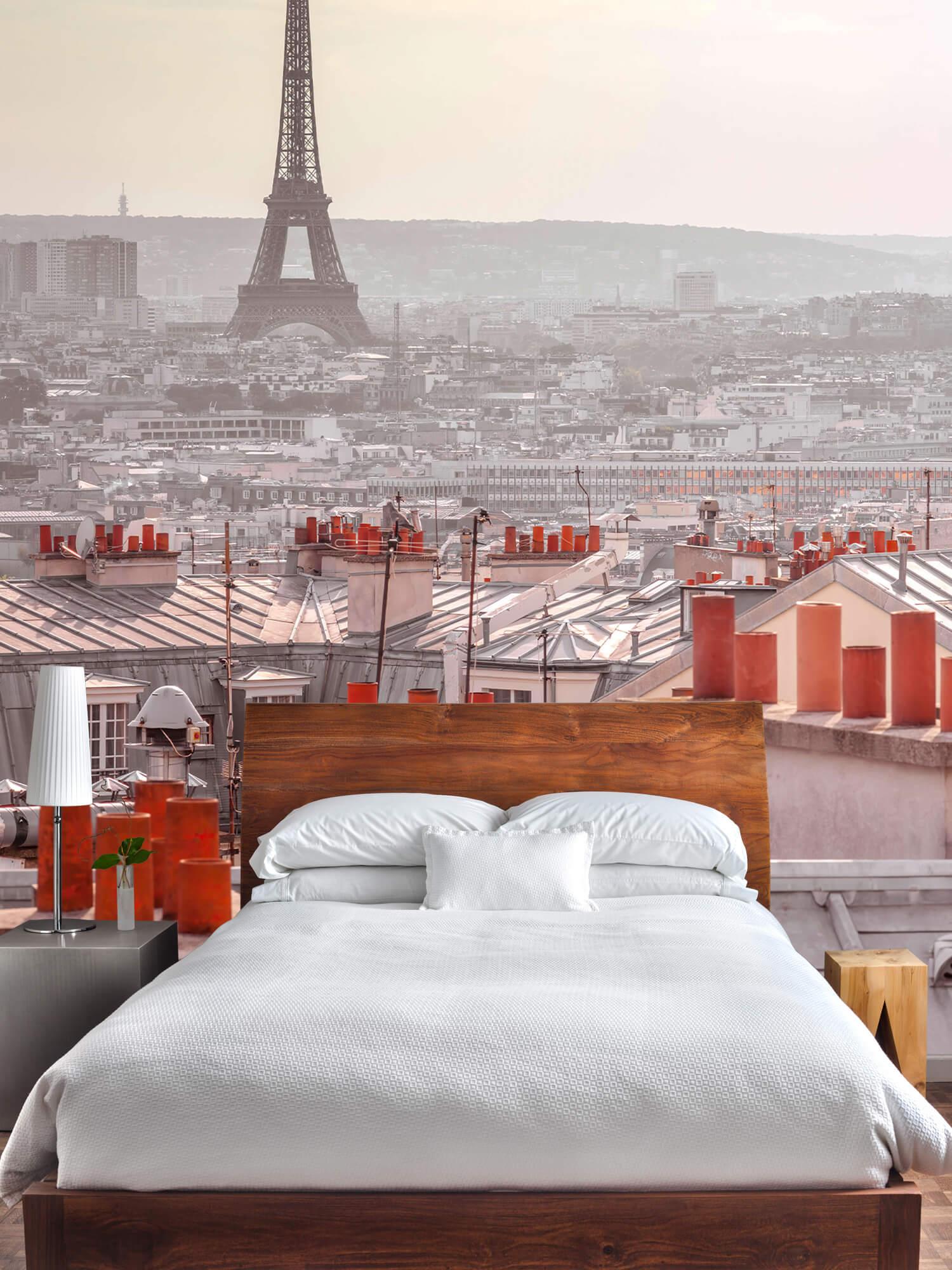 Eiffeltornet från Montmartre 3