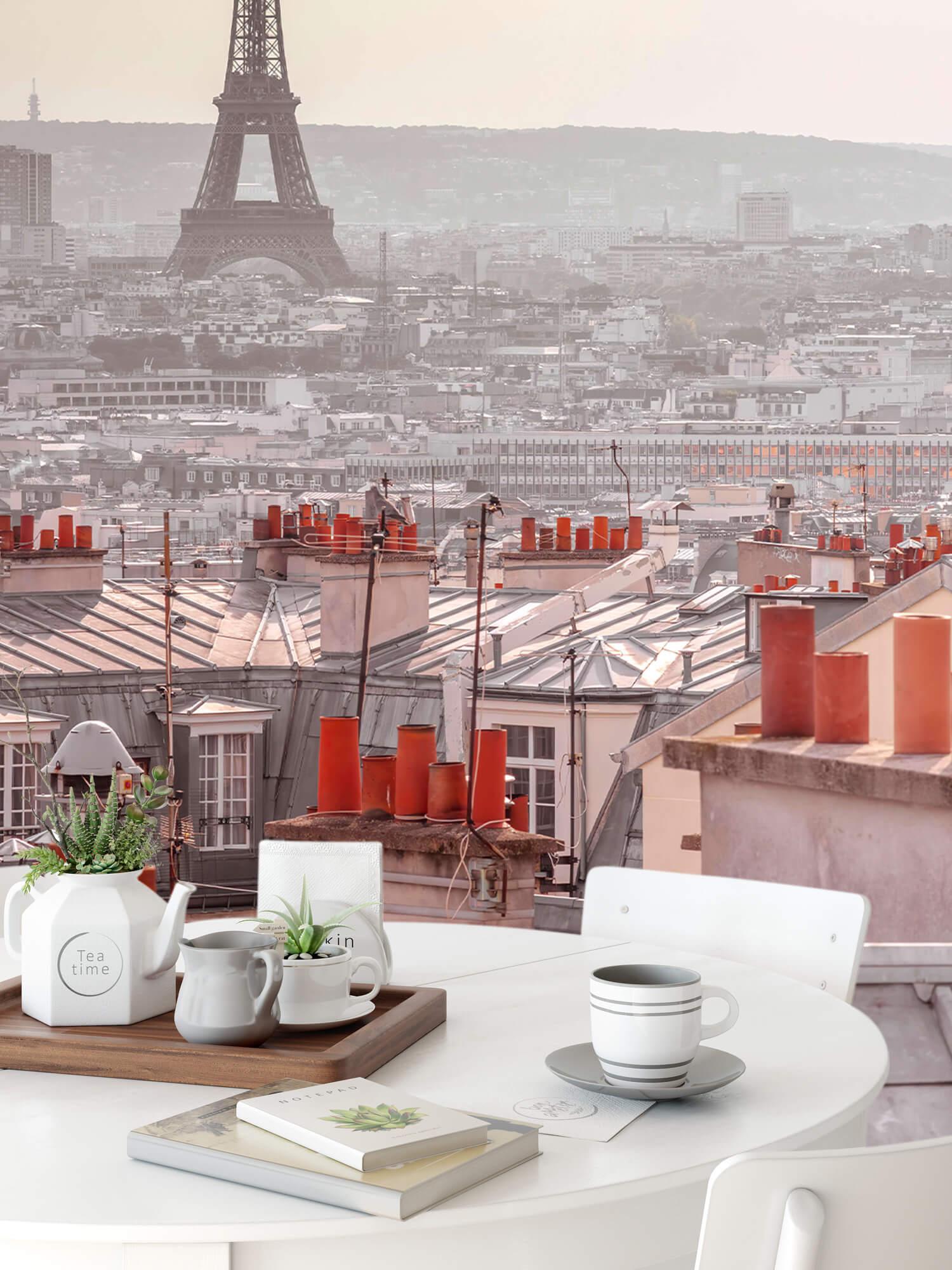 Eiffeltornet från Montmartre 4