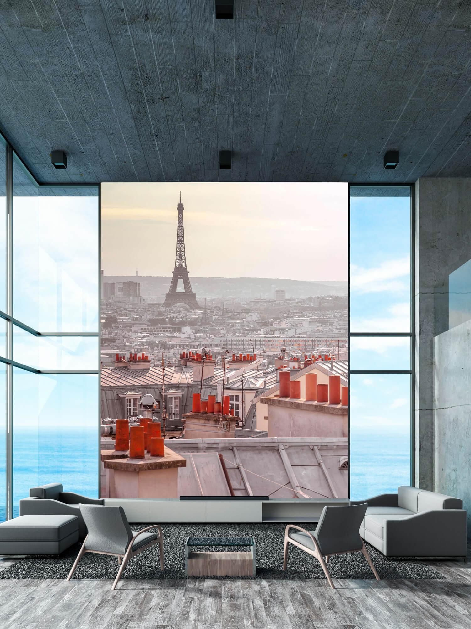 Eiffeltornet från Montmartre 1