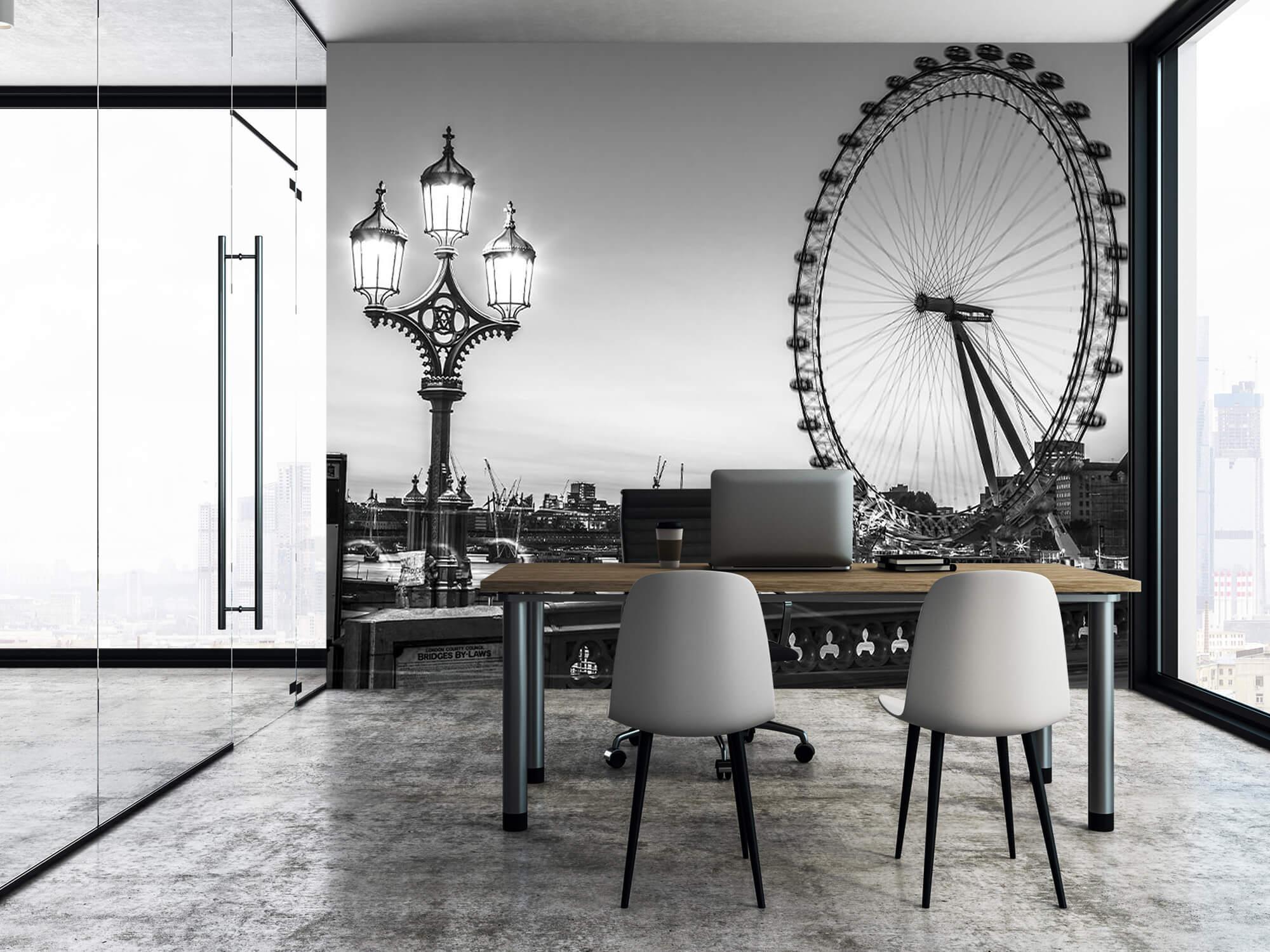 Pariserhjulet svart och vitt 9