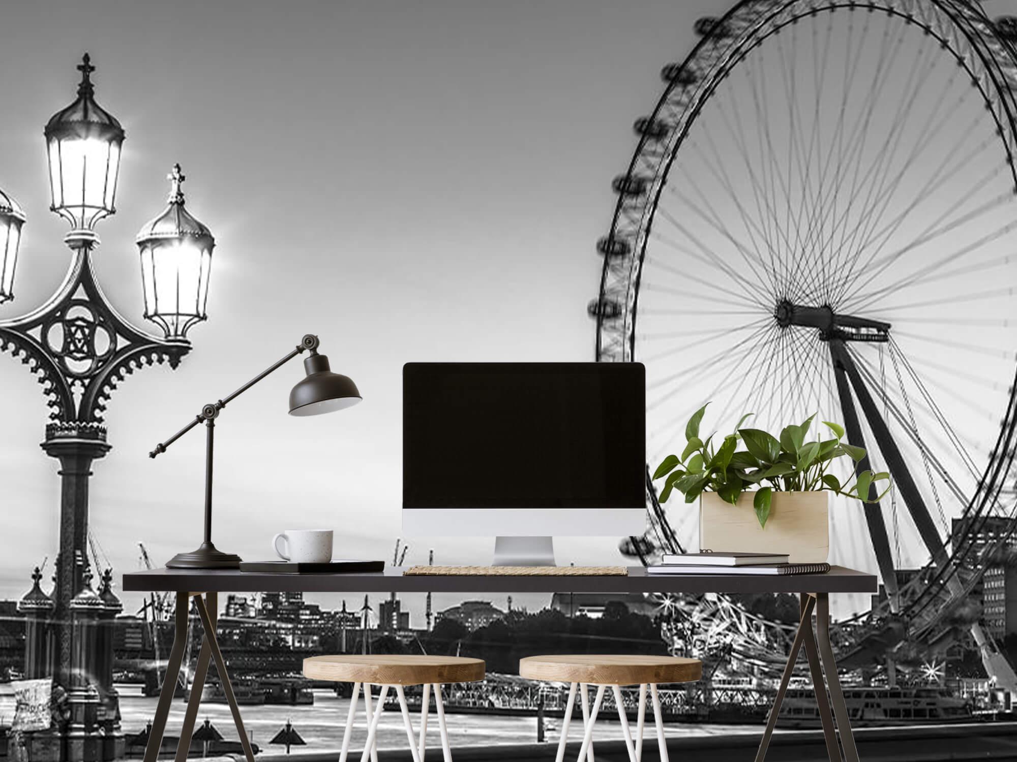 Pariserhjulet svart och vitt 11