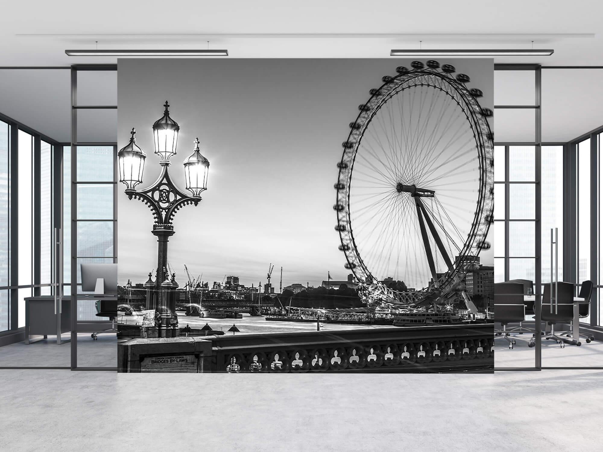 Pariserhjulet svart och vitt 12