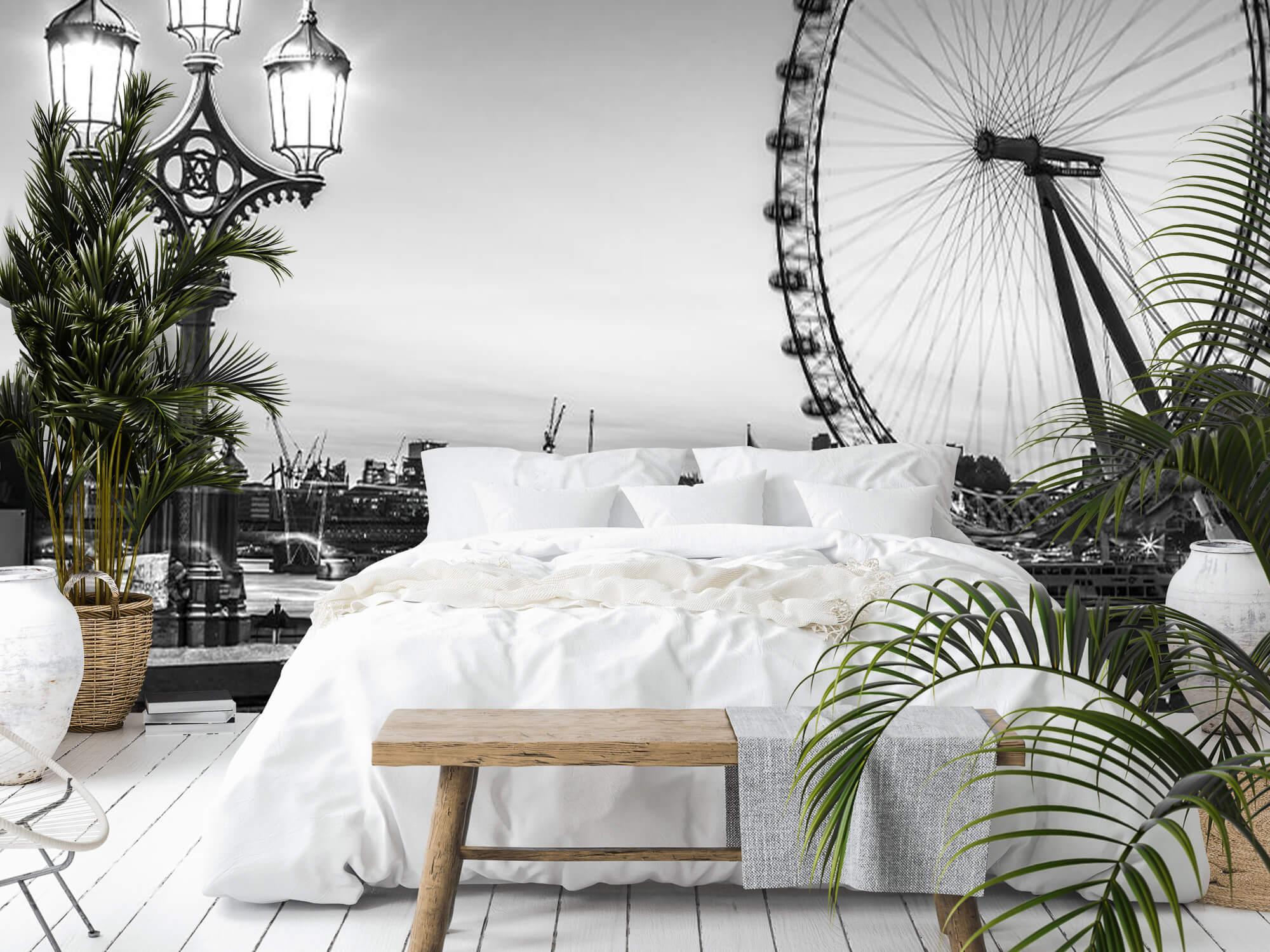 Pariserhjulet svart och vitt 3