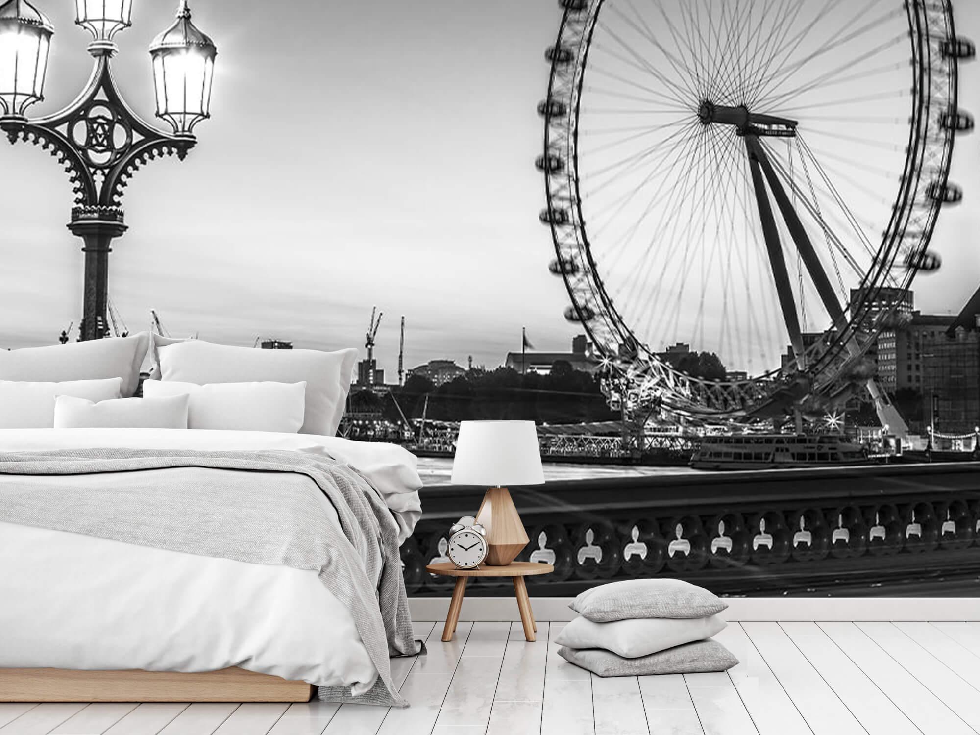 Pariserhjulet svart och vitt 8