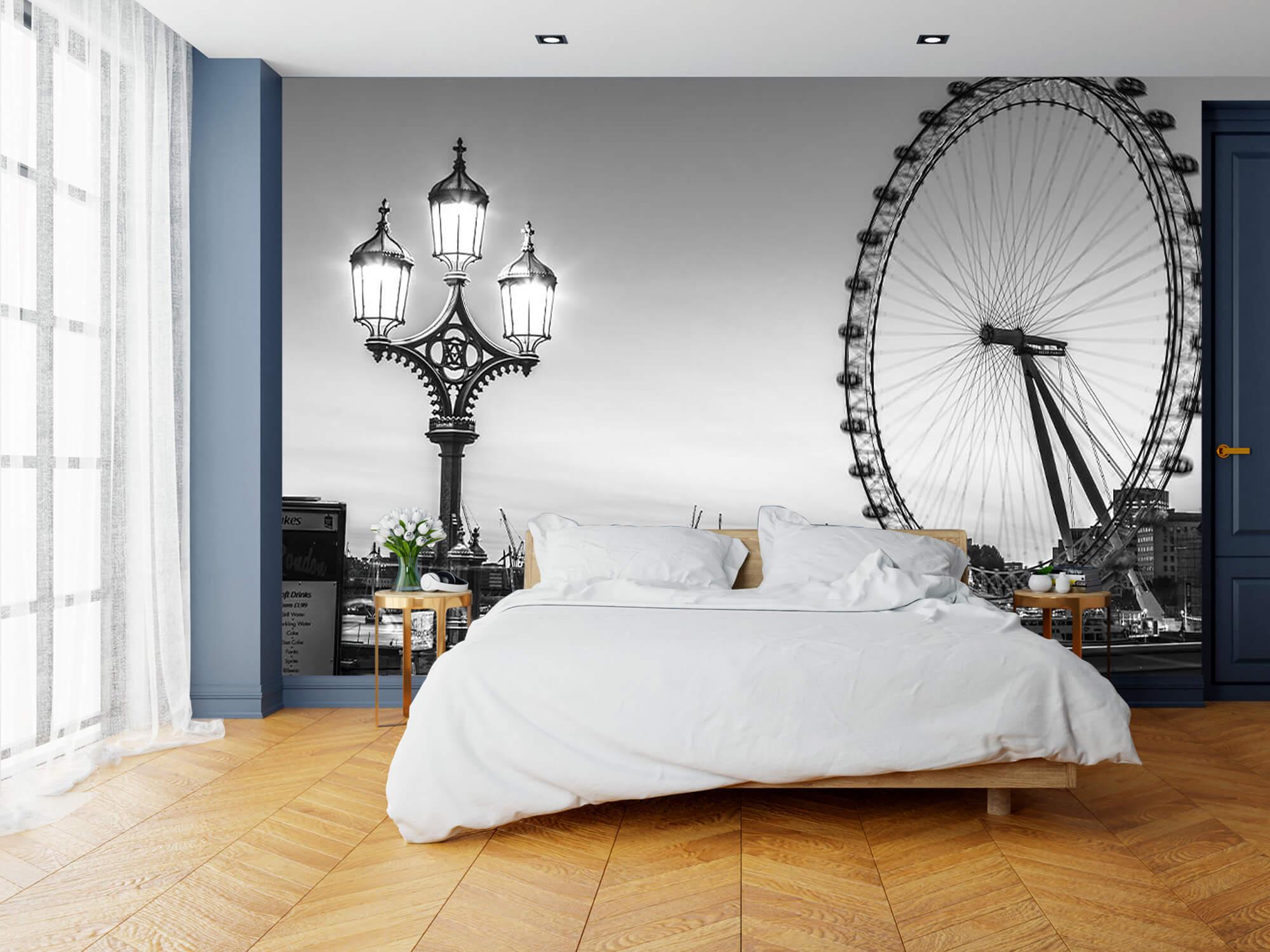 Pariserhjulet svart och vitt 13