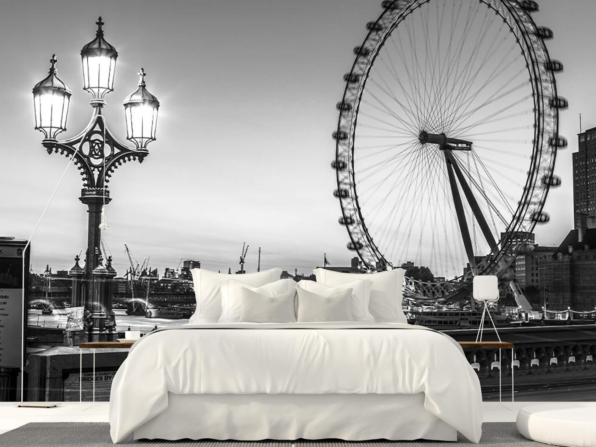 Pariserhjulet svart och vitt 10