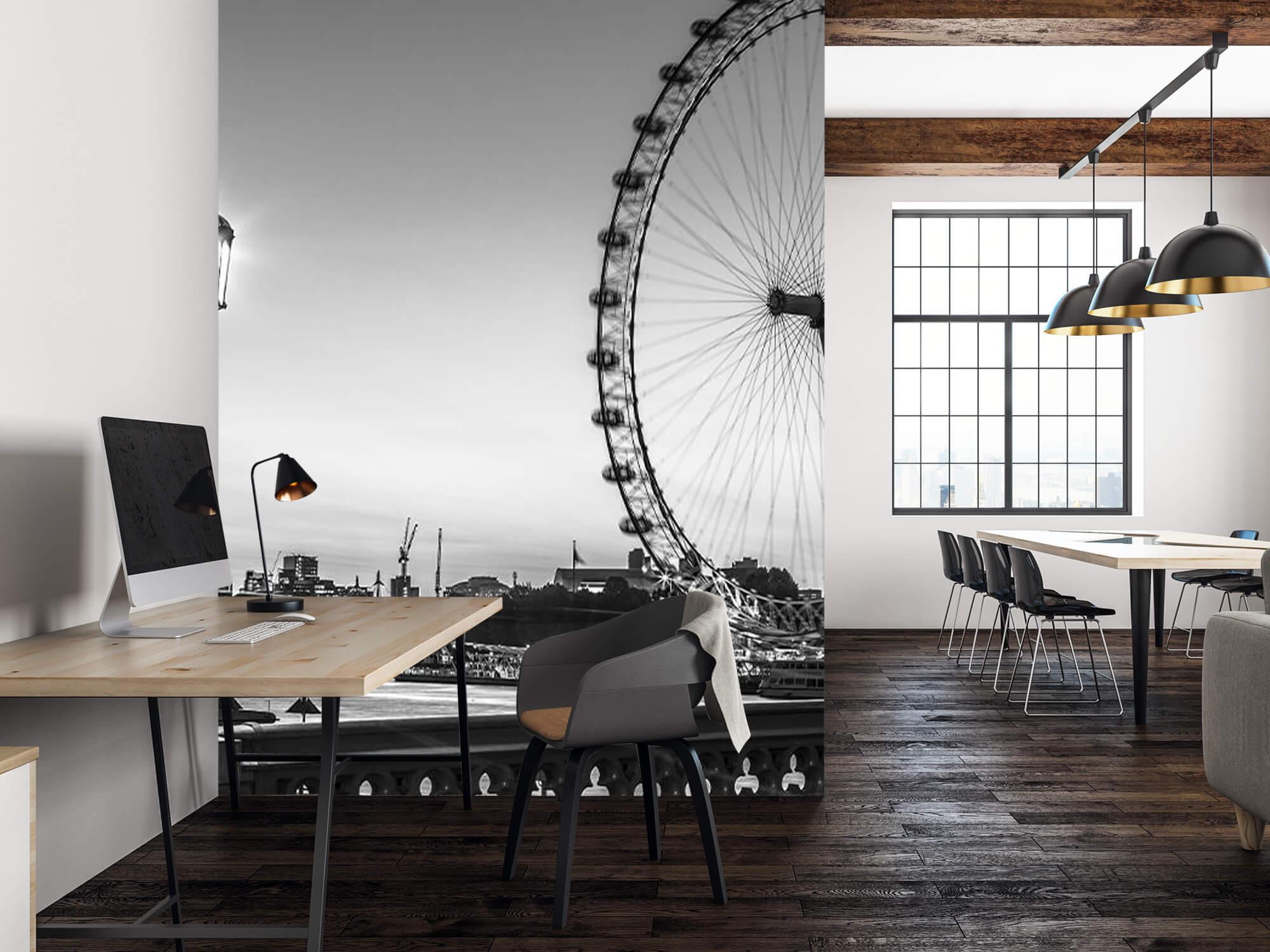 Pariserhjulet svart och vitt 2