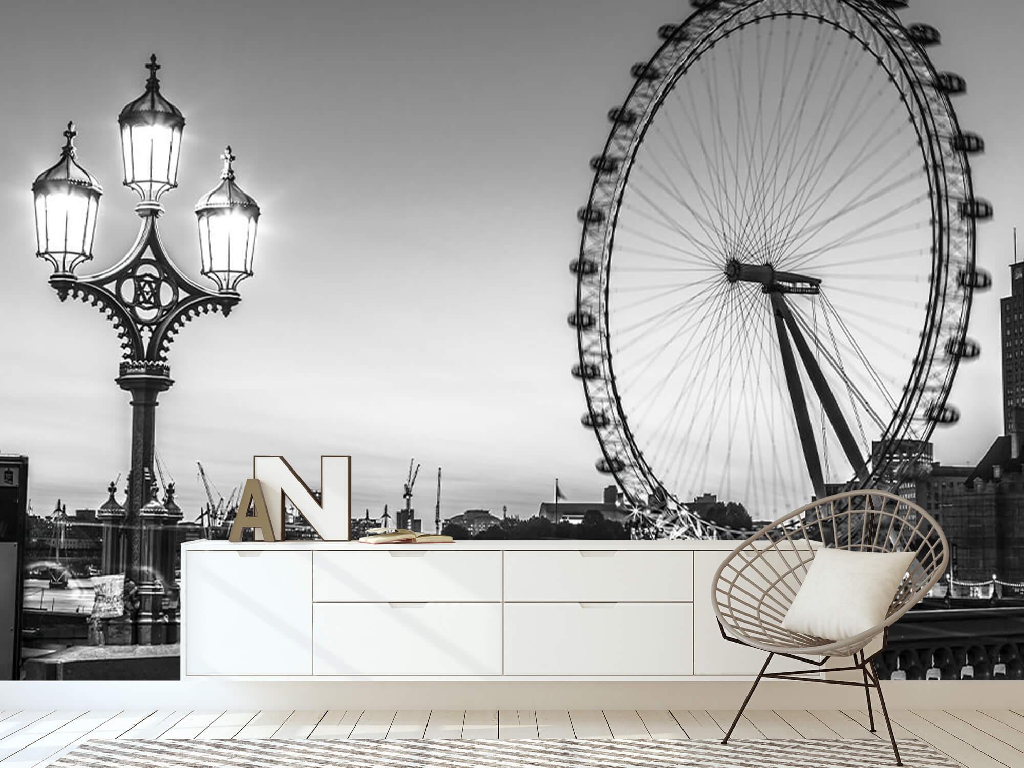 Pariserhjulet svart och vitt 5